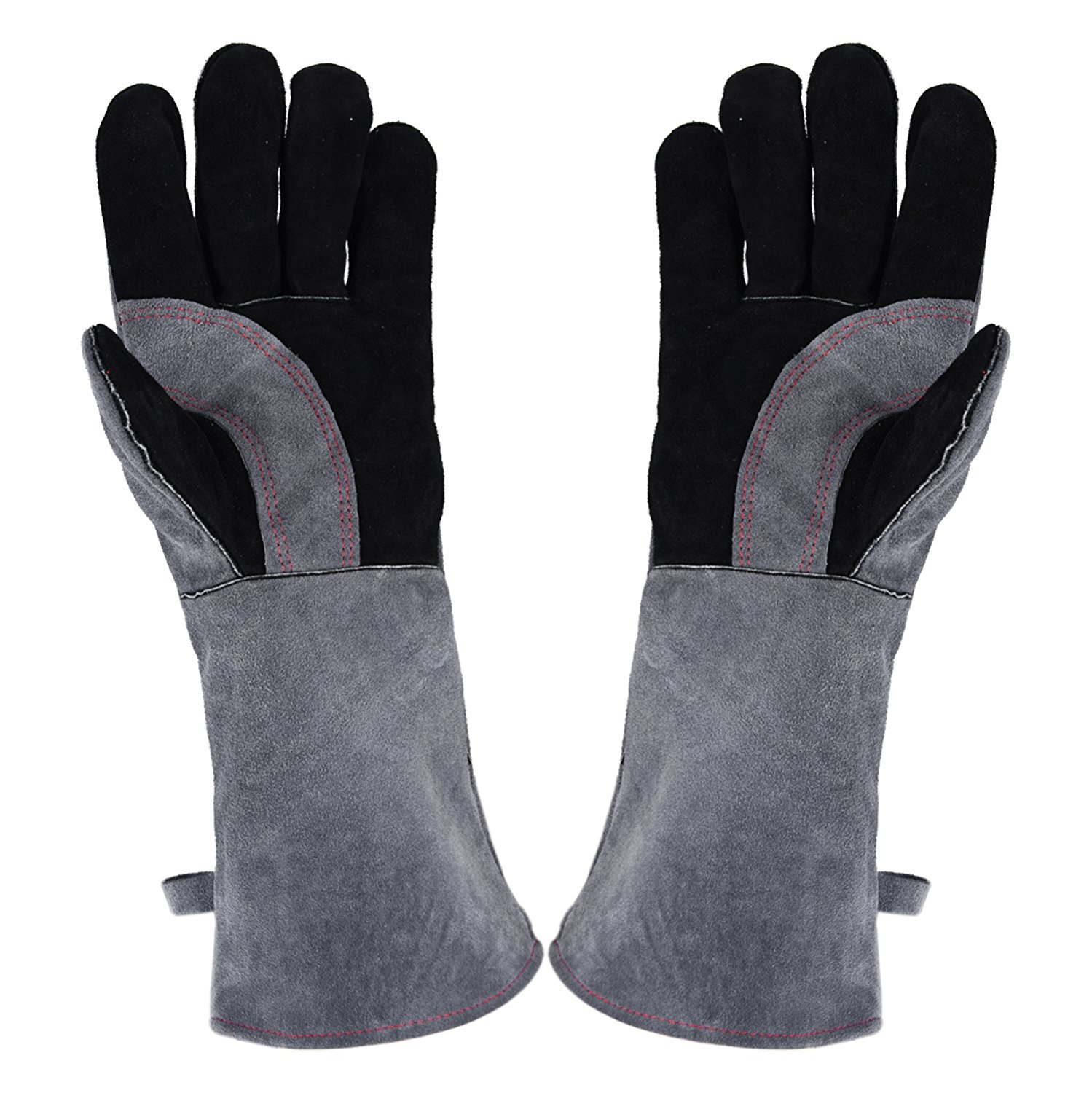 Gauntlets Suede Heat Resistant  One size Lead Mould Making Protective Gloves