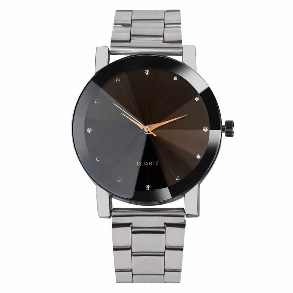 Mężczyźni zegarki Megir bransoletę ze stali nierdzewnej skórzany pasek sportowy zegarek moda Reloj 2018 luksusowe Top marka bransoletki z zegarkiem na rękę 18sep16