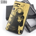 2016 New Creative Commemorate One Piece Wallet Anime Trafalgar D Water Law Cartoon PU Leather Wallet N052