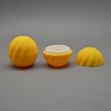 20 قطعة/الوحدة صغيرة فارغة التجميل الكرة الحاويات 7 جرام الشفاه بلسم جرة العين لمعان كريم عينة صندوق ماكياج التعبئة
