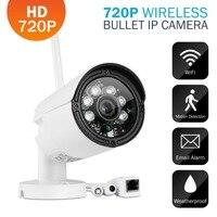 WIFI 1280 X 720P 1 0MP Bullet IP Camera Waterproof 2LED IR Night Vision Outdoor Security