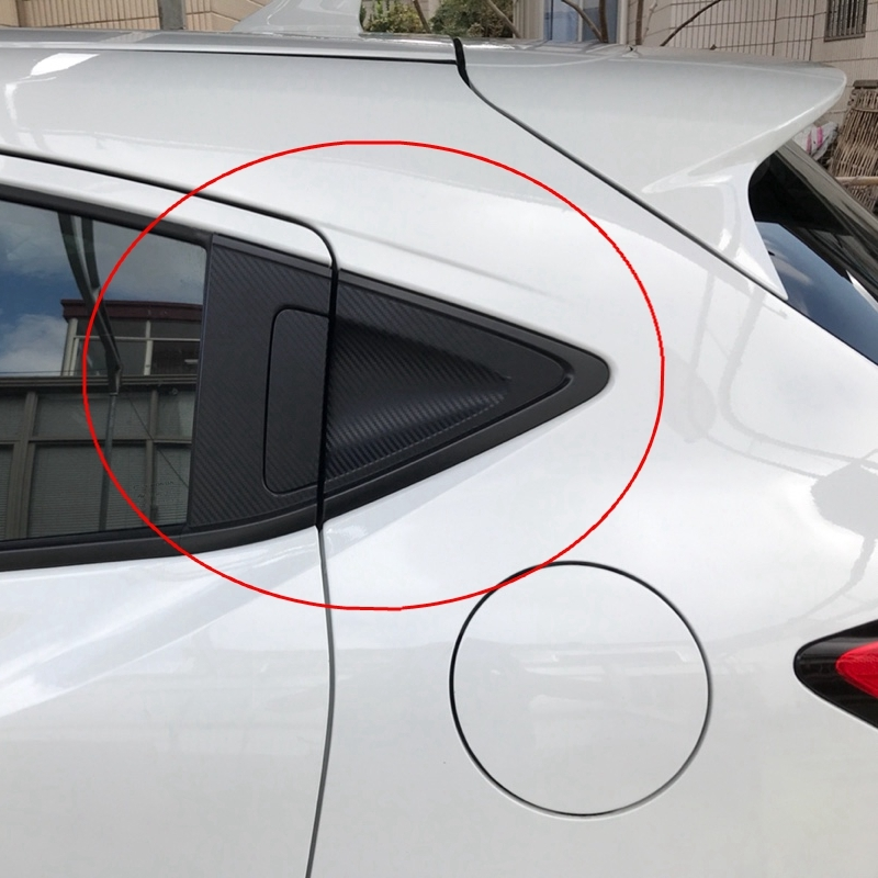 Car-styling Outer Rear Door Bowl Handle Protective Stickers Cover Trim 6pcs/set For HONDA VEZEL/XRV XR-V 2015+
