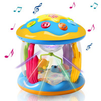 Litchi Baby Toys Ocean Park Rotating Projector,Various Pacify Music & Light, Early Educational Toys for 1 2 3 Year Girls and Boy