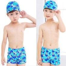 Летние плавки для мальчиков 40-90 кг, детский купальный костюм с рисунком, купальный костюм, детские шорты с крышкой Simminswg