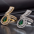 Woman Ring Fashion Wedding Rings With Stons For Women Trendy Jewelry For Female CZ Diamond Jewelry Fashion Luxury Rings