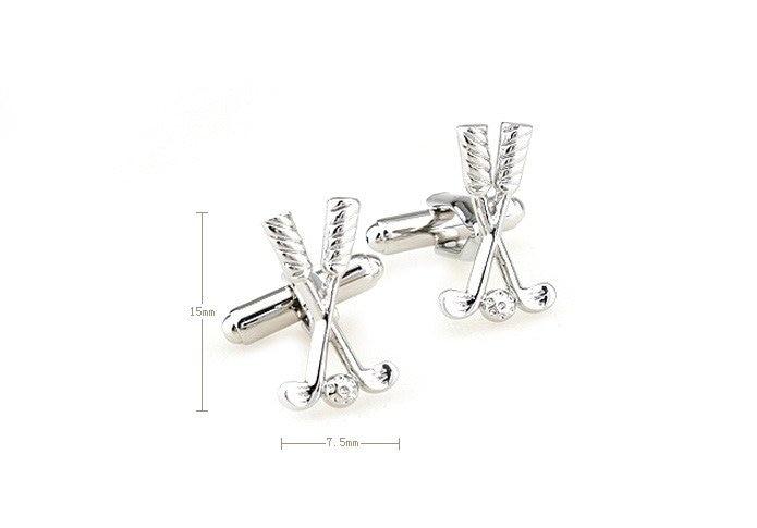 170317 Haiti golf club sports series mens cufflinks,mens cufflinks jewelry