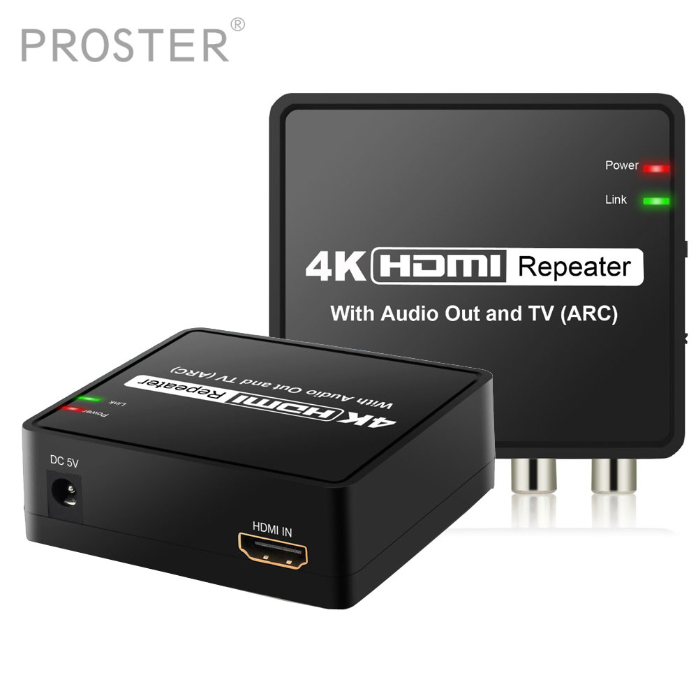 HDMI Audio Extractor Support ARC 5.1CH 2CH HDMI to HDMI with Optical Toslink Digital Audio + L/R Stereo Analog Audio Output