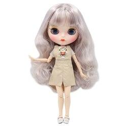 ICY DBS lalki Blyth 1/6 bjd biała skóra wspólne body marzycielski mieszane kolor loki nowy matowy twarz z brwi Lip połysk sd zabawki