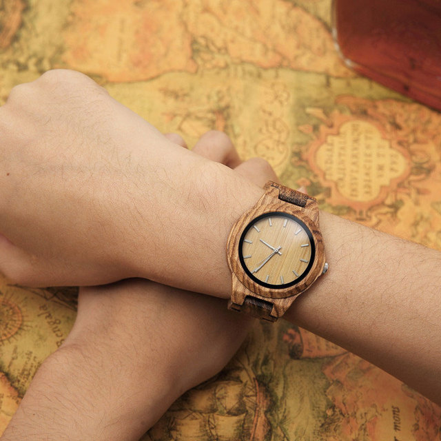 Wood Watch Women's Bracelet femme 2019 women watches Houten horloge Watch Styles art Luxury Famous Brand wood watch              4