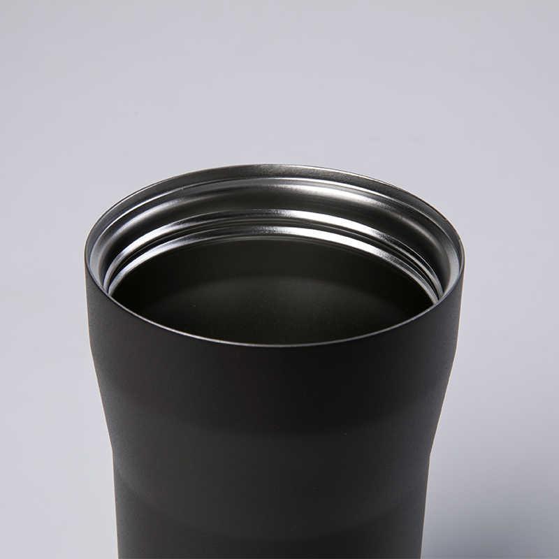 Santeco 350ml vaso de acero inoxidable peso ligero coche viaje taza de café termo al vacío con taza botella de agua taza de té