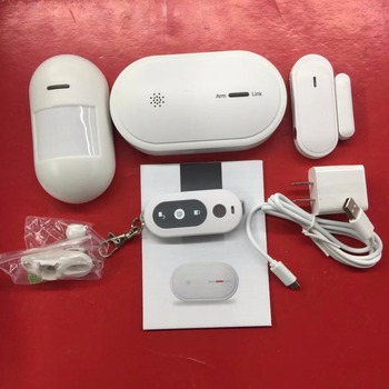 WIFI/GSM Dual Purpose Burglar Alarm System