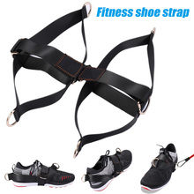 1 Pair Fitness Shoes Straps Workout AB Exercises Men Women Home GYM Equipment Body Building Fitness Shoes Straps