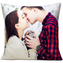 Photo custom diy Pillow Case creative Pillowcase  personality Printed 45x45cm birthday present Covers Velvet fabric