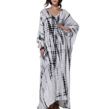 Womens Boho Clothing Women Long Dresses 2019 Plus Size Kaftan Dress Maxi  Summer Beach Clothes Bohemian 2b12847a8e36