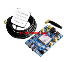 SIM808 Module GSM GPRS GPS Development Board IPX SMA with GPS Antenna for Arduino Raspberry Pi Support 2G 3G 4G SIM Card