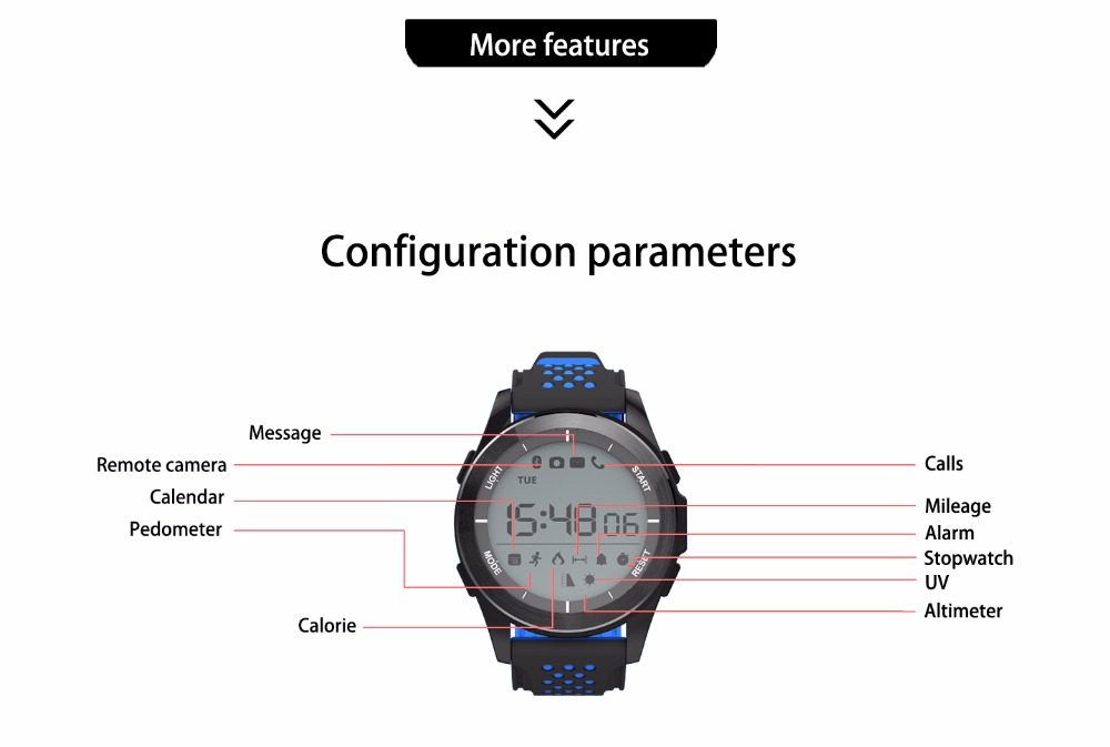DTNO.1 F3 Smart Watch for Sports Health tracker (12)