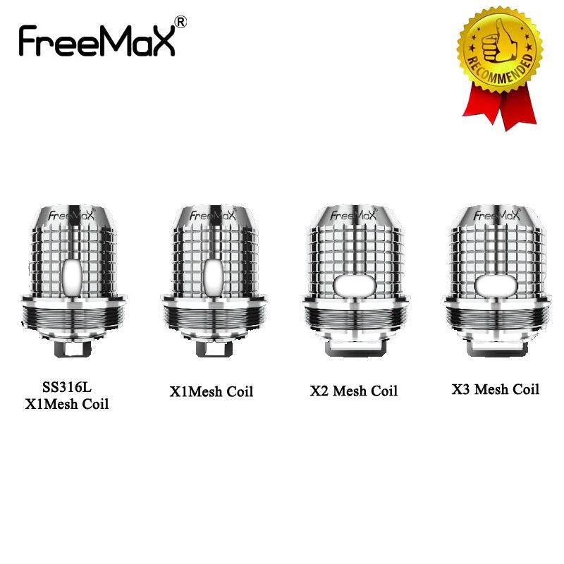5pcs/lot Freemax Twister Coils X1 X2 X3 X4 TX Replacement Mesh Coil For FreeMax Fireluke 2 Tank For Freemax Twister Vape Kit