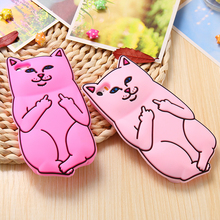 Lovely Silicone Cat Case For Iphone 6 6S Plus 6 7 Plus 5S SE Coque Cartoon Pocket Kitty Cover For iPhone 6 7 Case Soft Capa Bag