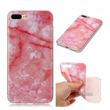Fashion Marble Case For Iphone 4S 5S SE 6 6S 7 Plus Ipod Touch 5 6 Soft Silicone TPU Back Cover For Xiaomi Redmi 3S Coque(China)