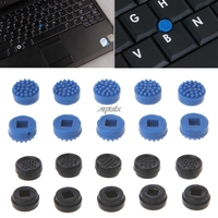 10PCS Trackpoint Pointer Mouse Stick Point Cap For DELL Laptop Keyboard Black/blue color Z09 Drop ship