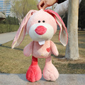 50cm Factory direct sale Wholesale NICI Poker series doll lovely dog /rabbit/lion/elephant pink  for birthday gift 1pcs