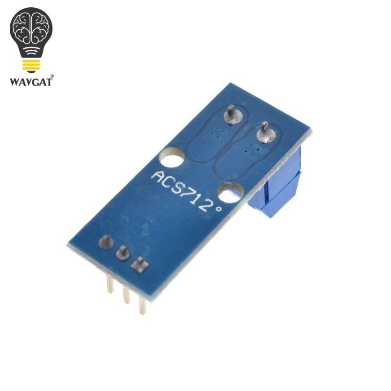 Wavgat Лидер продаж ACS712 20A диапазон зал Текущий Сенсор модуль ACS712 модуль для Arduino 20A