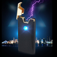 USB Electric Cigarette Cigar Lighter Arc Flameless Rechargeable Windproof Pulse Tobacco Pipe Accessory Ligther