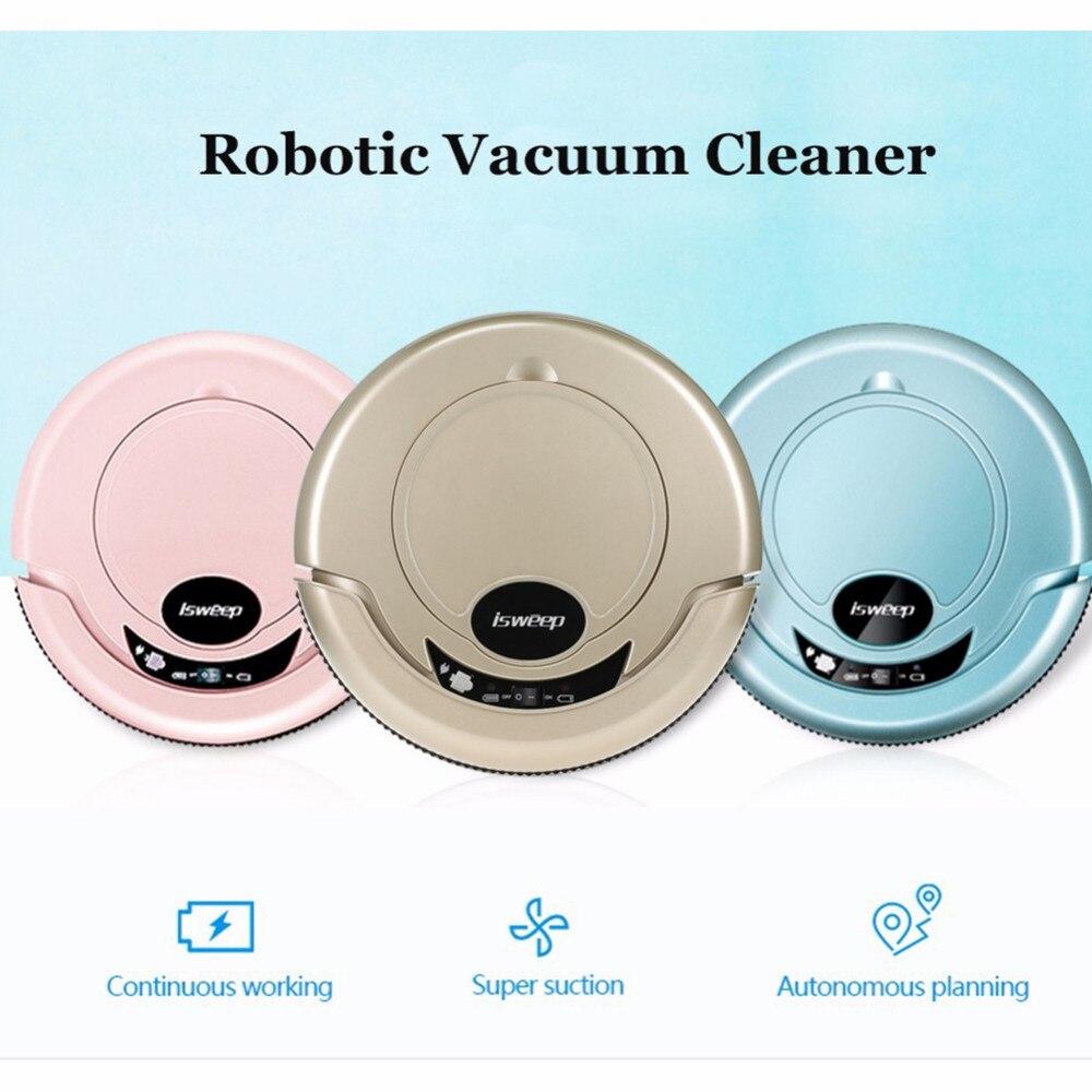 Aspirateur Robot Intelligent ISWEEP S550 pour aspirateur Robot Intelligent à domicile télécommande à Charge automatique VS ILIFE V5s Pro