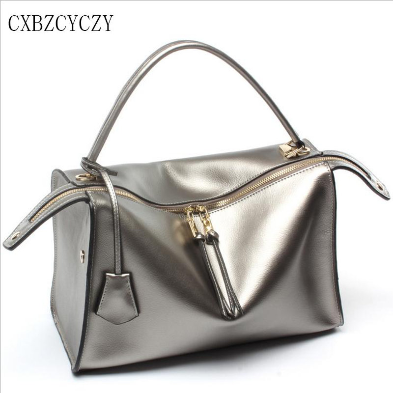 Women Shoulder Bag Oil Wax Cow Genuine Leather Luxury Drand Designer Women Messenger Bags Handbag High Quality Bolsa Feminina 2017 new charming designer genuine leather luxury women handbag high quality ladies hobo bags shoulder crossbody bolsa feminina