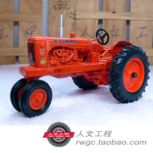 AC 45 all-metal alloy hand tractor agricultural vehicle simulation model gift An Act ERTL 1:16 knl hobby j deere 720 farm tractor alloy car models us ertl 1 16 special clearance