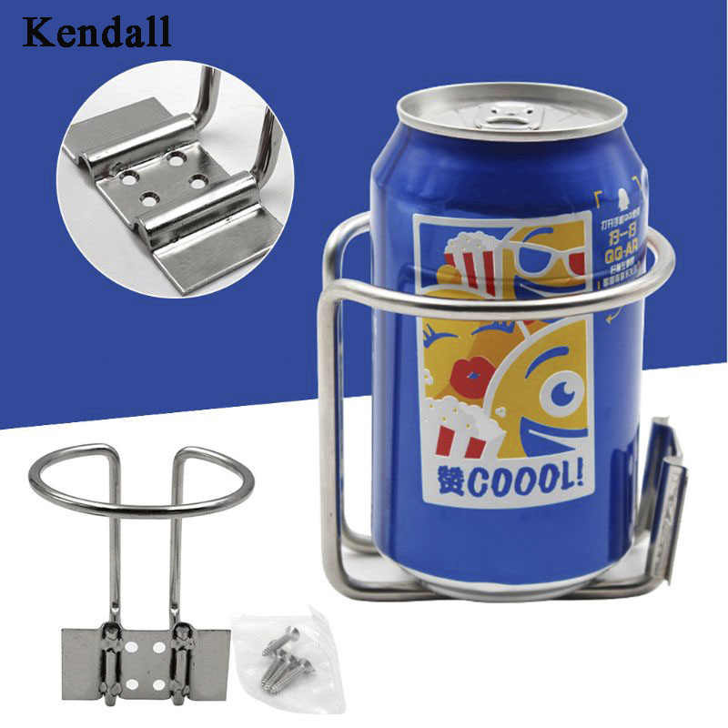 Car Ring Cup Holder Stainless Steel Water Drink Beverage Bottle Stand Holder For Boat Truck