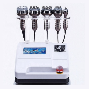 Unoised cavitation 40k ultracavitation and rf 5 in 1 salon 40khz cavitation rf slimming machine