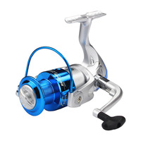 2016 New Arrival Spinning Blue Fishing Reel Distant Fishing Wheel High Quality 5 2 1 Sea