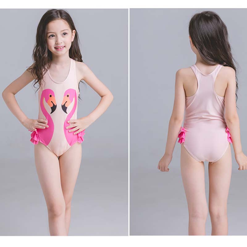 2017 Summer Clothes Kids Flower Set Bathing Suits For -5831