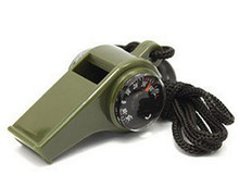 500 PCS 3 in1 Outdoor Emergency Survival Gear Whistle Compass Thermometer