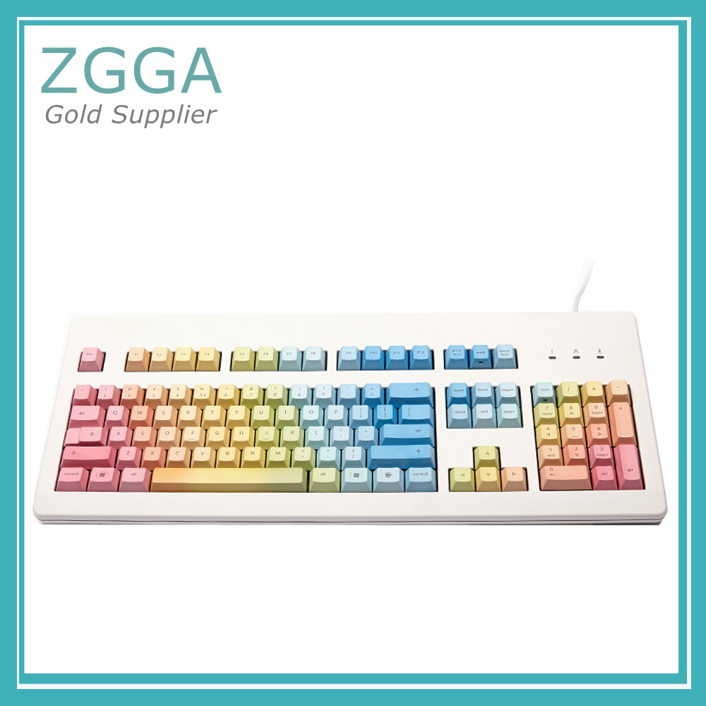 Genuine For Cherry Mechanical Keyboard G80-3800 3850 3000 Rainbow Keycap PBT KC104B jd коллекция 20 g80 3800 белый красная ось