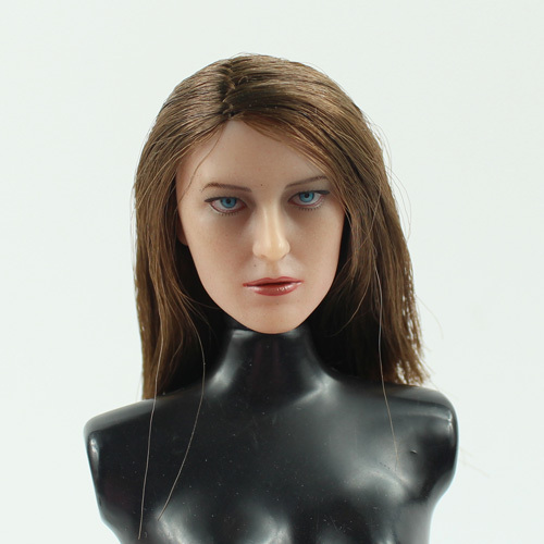 ФОТО ZCWO1/6 Europe and America Female headsculpt for DIY 12inch doll Parts