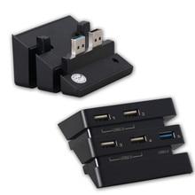 USB Phụ Trung Tâm Cho PS4 Pro Phụ Kiện 5 Cổng USB 3.0 + 2.0 Mở Rộng Trung Tâm Điều Khiển Sạc Adapter Cho PS4 pro Chơi Game