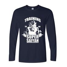 New Arrivals Men's Dragon Balls Z Fashion Long Sleeve T shirt (7 colors)