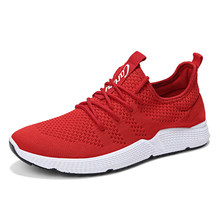 da12e6549df5e Red White Tenis Masculino 2018 Autumn New Men Sneakers Cool Mesh Gym Sport  Shoes Men Tennis Shoes Male Stability Trainers Cheap