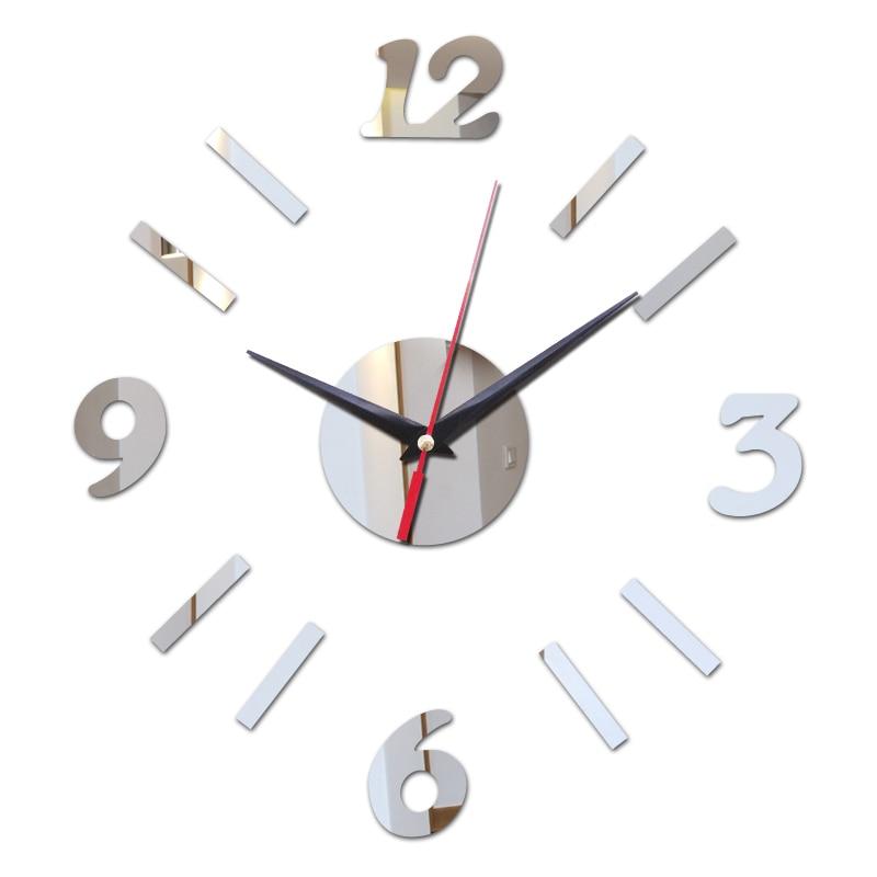 new top fashion modern 2016 promotion wall clocks diy 3d mirror acrylic glass for office living aliexpresscom buy office decoration diy wall