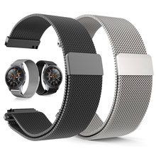 22mm 20mm Milanese Loop Band for Samsung Galaxy 46mm 42mm S3 S2 Classic Gear Sport Strap for Huami amazfit bip Huawei Watch 2 GT 20mm 22mm sports silicone band for samsung galaxy 46mm 42mm s3 s2 classic gear sport strap for huami amazfit bip huawei watch 2