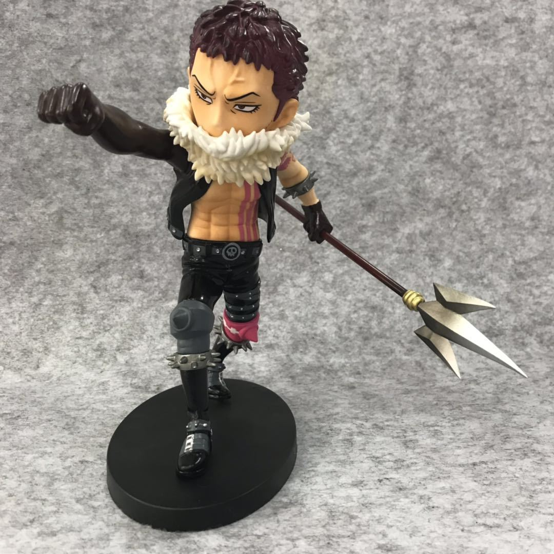 Anime <font><b>One</b></font> <font><b>Piece</b></font> Charlotte <font><b>Katakuri</b></font> Action <font><b>Figure</b></font> Model Toys 21cm image