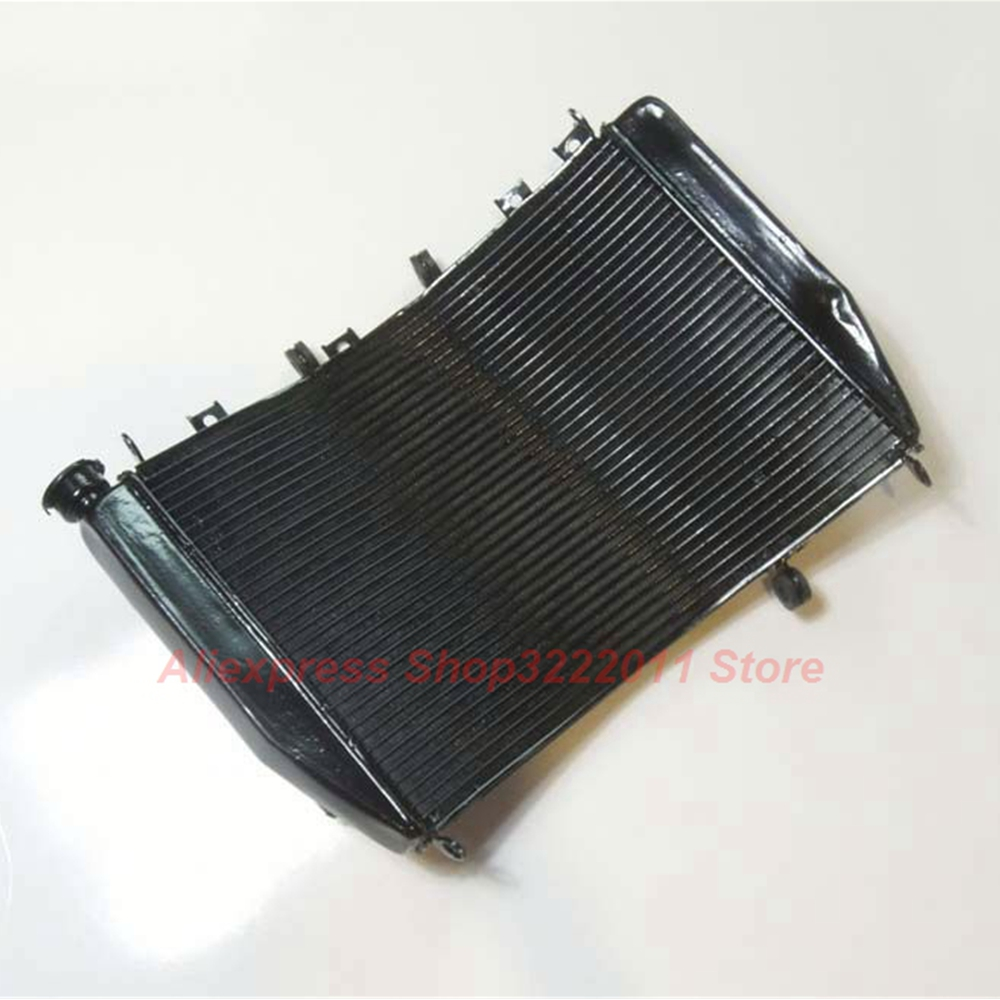 Motorcycle Radiator for Kawasaki Ninja ZX9R ZX900F 2000 2001 2002 2003 Aluminum Water Cooler Cooling Kit for 2002 2005 kawasaki ninja zx9r zx 9r motorcycle rear passenger seat cover cowl black 01 02 03 04 05