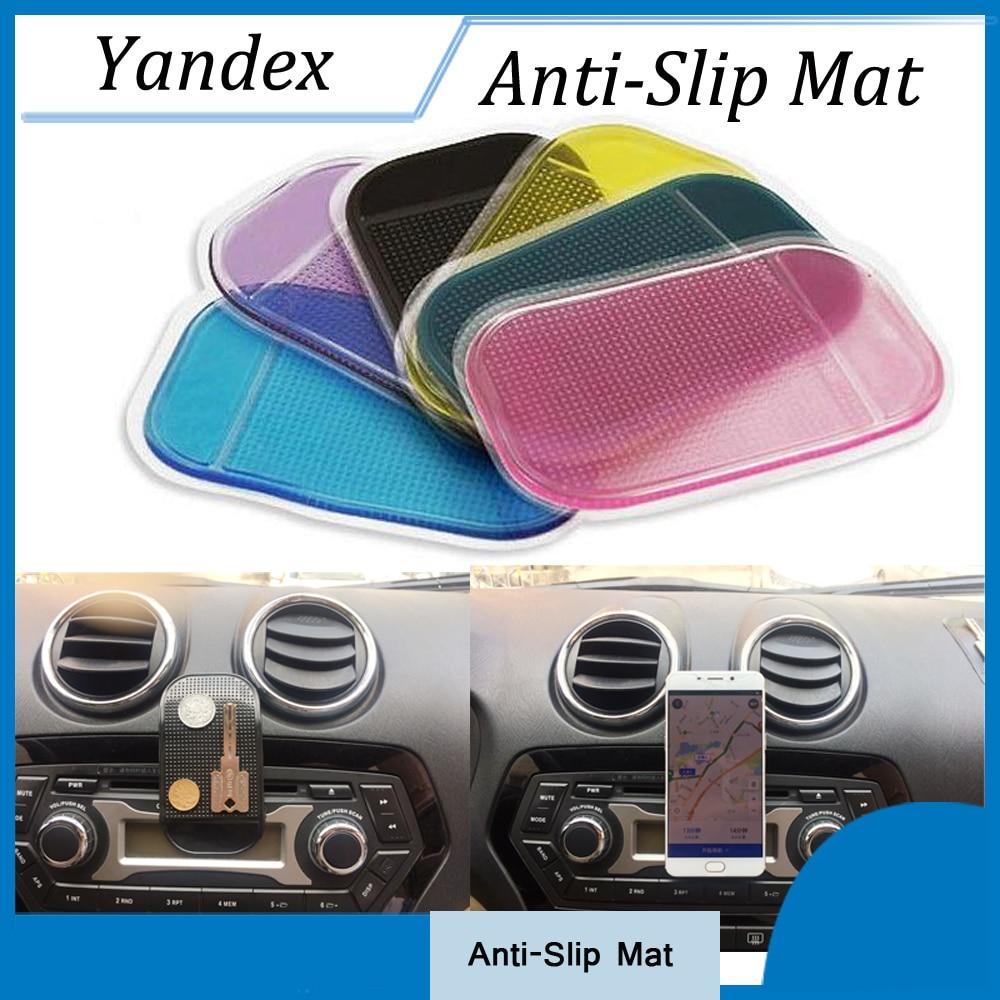 5 PCS Car Accessories Styling Anti-Slip Mat for Mobile Phone mp4 Pad key GPS Anti Slip Car Sticker Anti-Slip Mat Car-styling