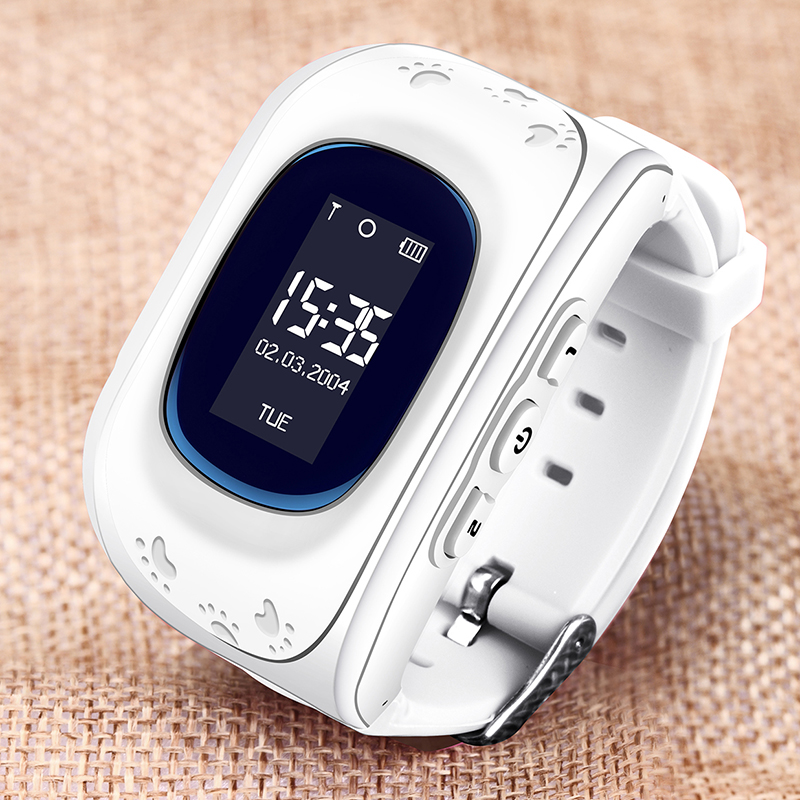BANGWEI 2019 Children Smart Watch LBS Position Tracker Security Positioning Support SIM Card SOS Emergency Call Digital Watch