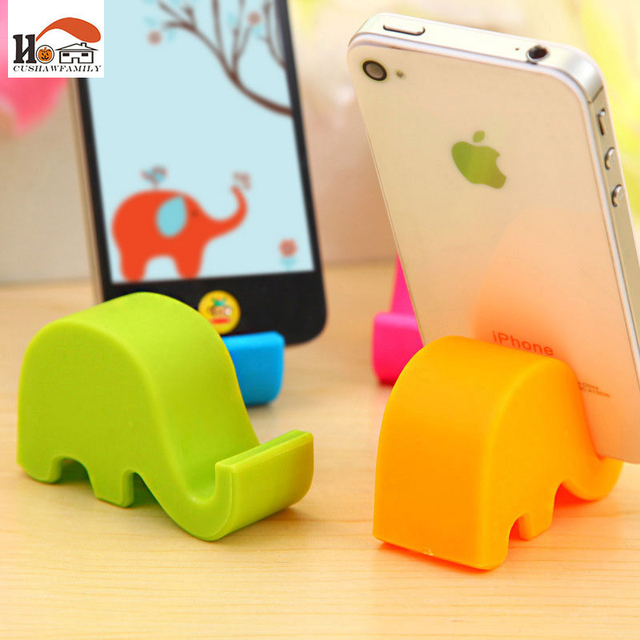 Cute elephant multi-function chopsticks rack phone stents storage holders Household Items receive rack Home decor