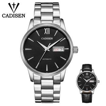 CADISEN Men Watch Set Automatic Mechanical Gift Belt NH36A Machine Core Date Fashione luxury Brand 5ATM Waterproof Clock Mechanical Watches