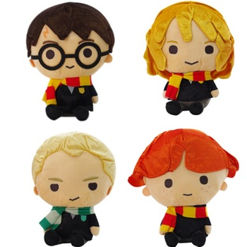 super heroes harry potter figure hermione draco malfoy ron weasley lord voldemort building blocks toys for children gift kf1031 New  Plush Toy Harry Ron Hermione Draco Malfoy 30CM Large Gift A birthday present for your child