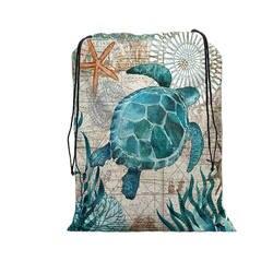 Crowdale уникальный настроить для женщин рюкзак морской конек черепаха Осьминог 3D печать путешествия сумки на плечо Mochila мужские Drawstring сумка
